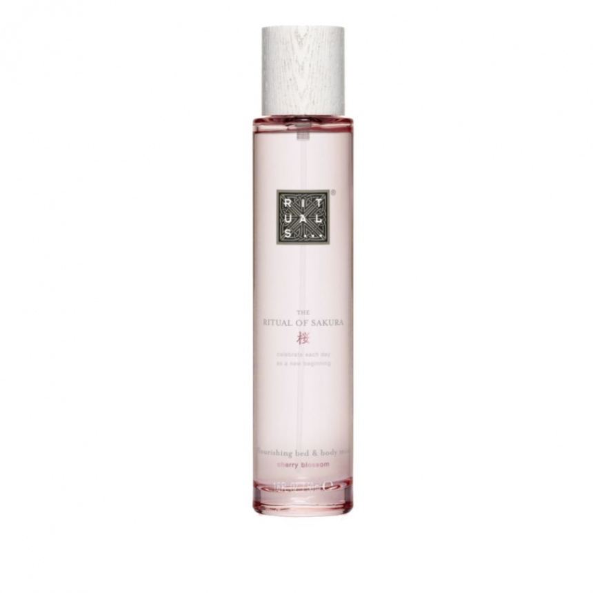rituals the ritual of sakura bed body mist. Black Bedroom Furniture Sets. Home Design Ideas