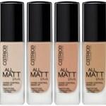 All Matt Plus - Shine Control Make Up (Catrice Cosmetics)