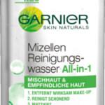 Mizellen Reinigungswasser - All-in-1 - Mischhaut und empfindliche Haut (Garnier)